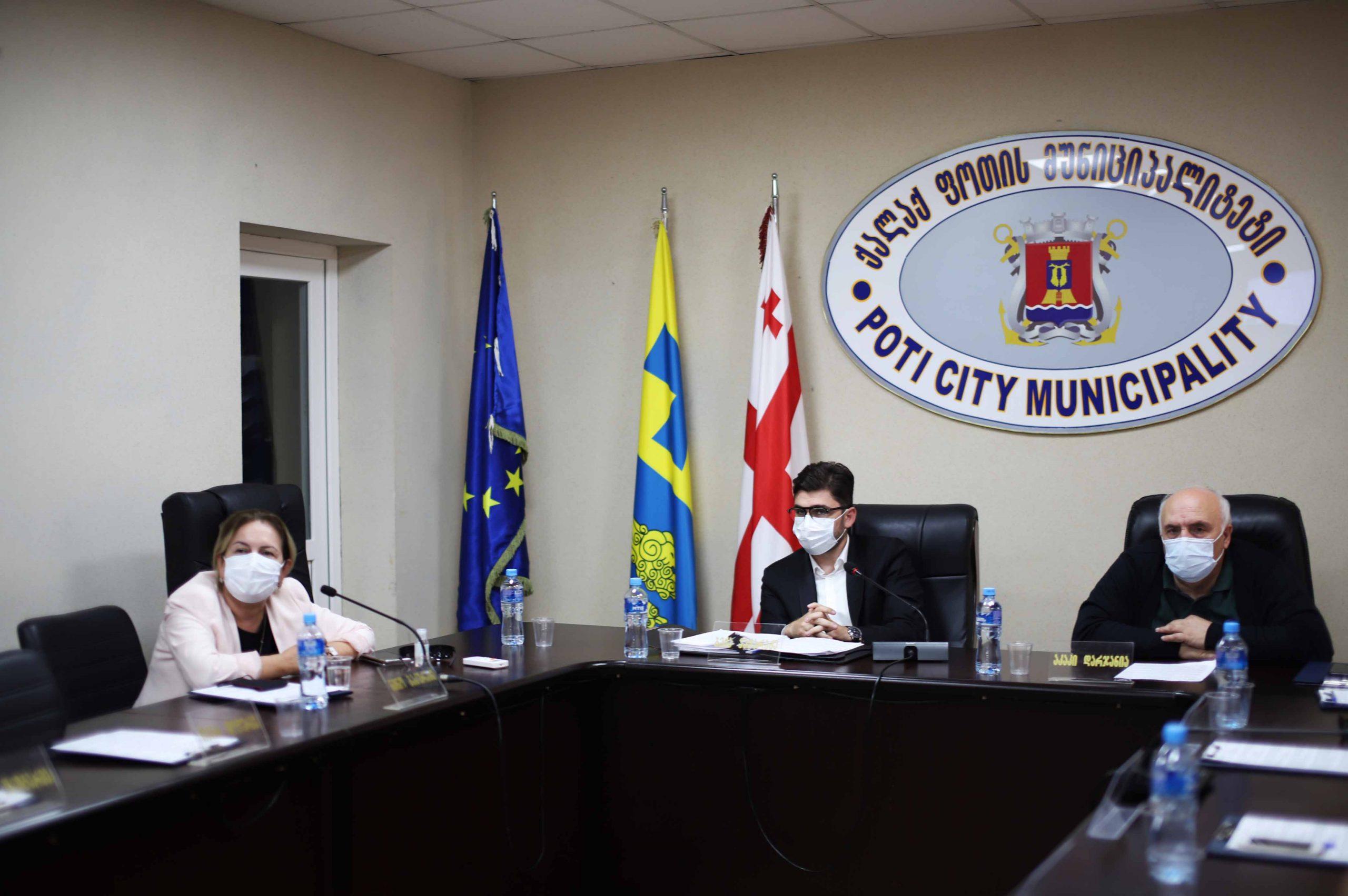 ქალაქ ფოთის მუნიციპალიტეტის საკრებულოს მე-10 გეგმიური სხდომა