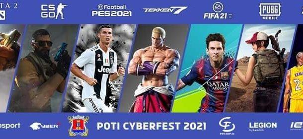 """სამეგრელო-ზემო სვანეთის კიბერ ფესტივალი - """"Poti Cyberfest 2021"""""""