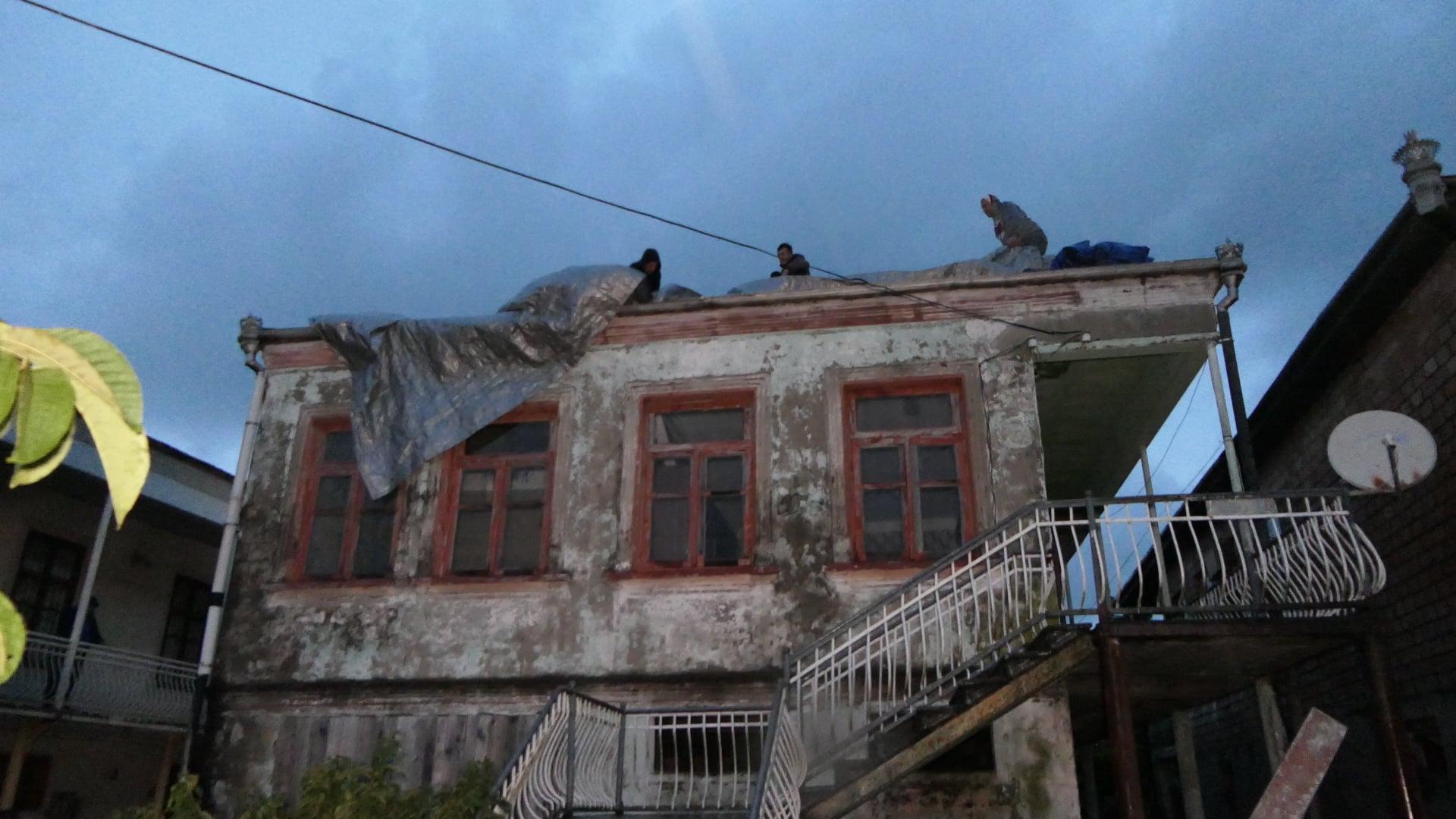 ფოთის მუნიციპალიტეტში 16:50 საათზე  ძლიერი ქარი 17- 32 მ/წმ-დე დაფიქსირდა